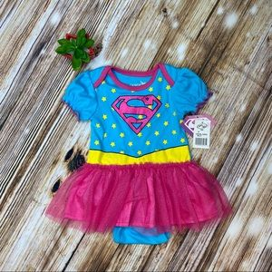 Super Girl Tutu Onesie/Costume